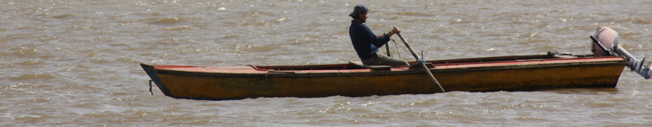 rowing in the Paraná River, Rosario, Argentina