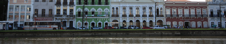 Capibaribe River front, Recife, Brazil