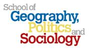 Geography, Politics and Sociology