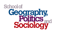 School of Geography, Politics and Sociology Logo