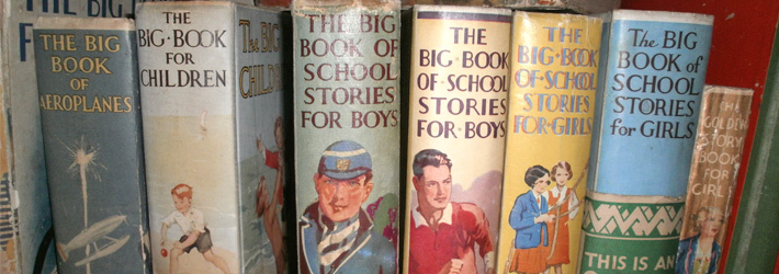 The Big Book spines