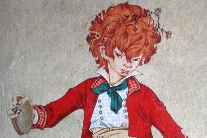 Detail from cover of Struwwelpeter