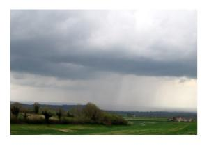 Rain over Wells by Sharon Loxton