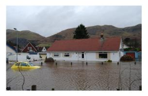 Tillicoultry flood by John Chroston
