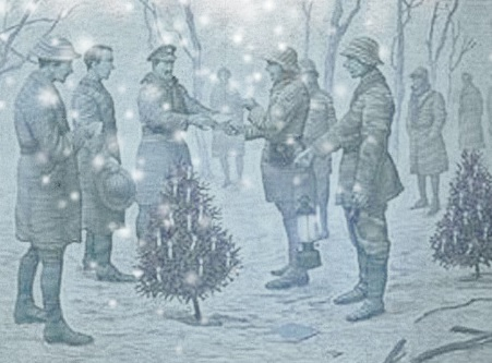 Wwi Christmas Truce.Christmas Truce Play Martin Luther King Peace Committee