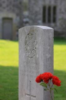 First World War - Soldier Grave
