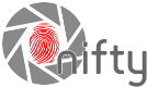 transparent version of the nifty logo