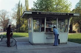 newspaper stand GDR